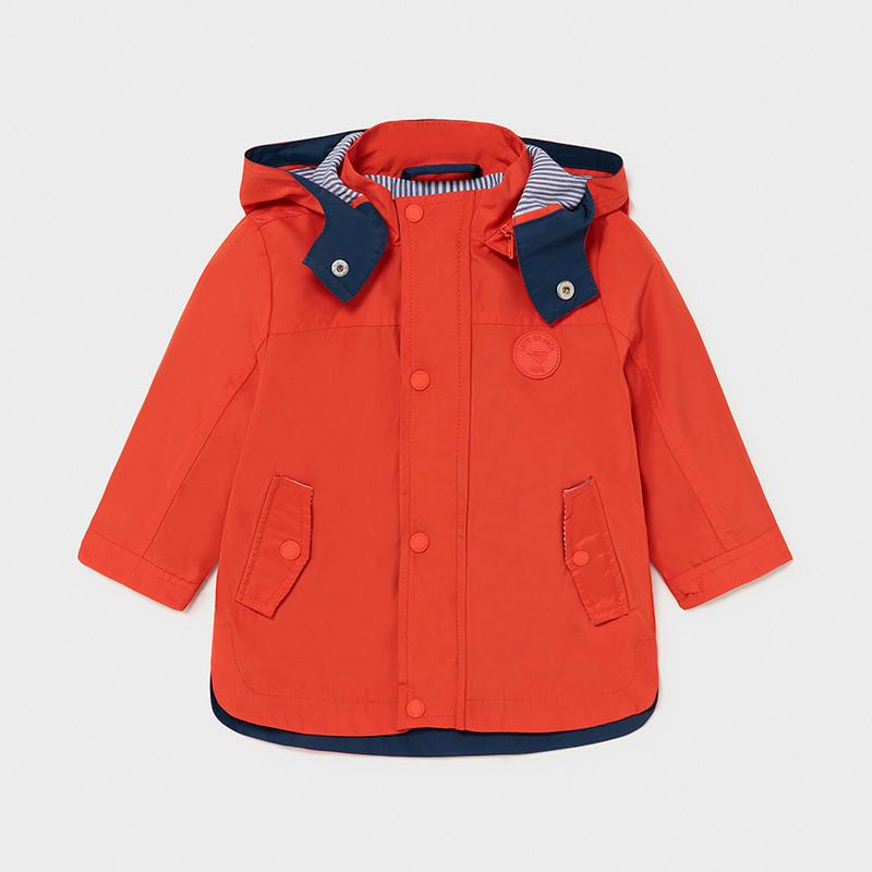 Mayoral Boys Nautical Windbreaker Hibiscus