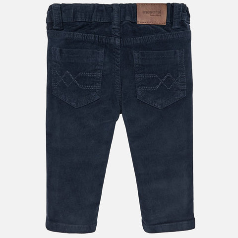 Mayoral Baby Boys Slim Fit Navy Cords