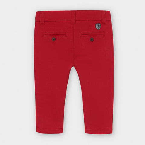 Mayoral Baby Boys Chinos - Red