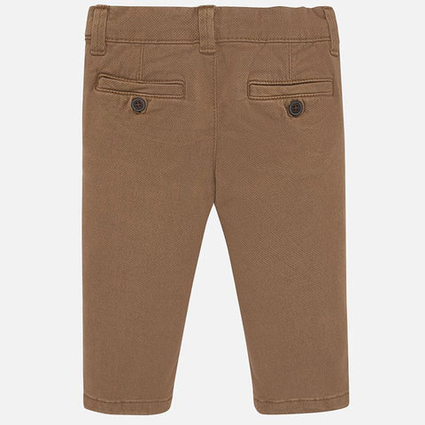 Mayoral Baby Boys Chinos - Brown