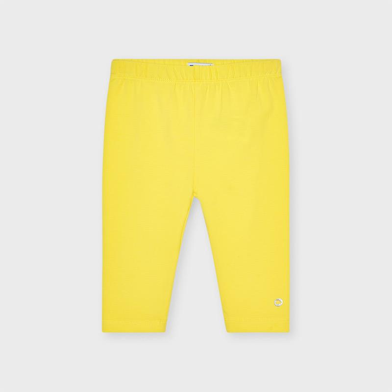 Mayoral Basic Short Leggings Yellow 00723