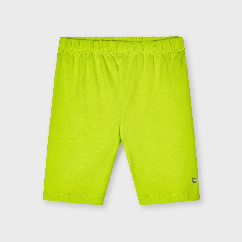 Mayoral Girls Ecofriends Shorts Lime 03202