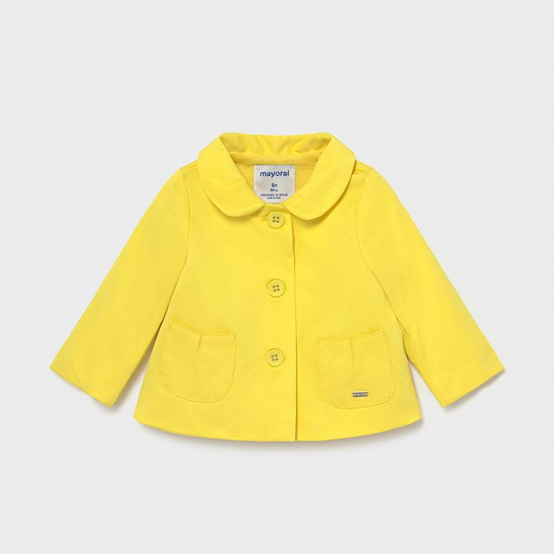 Mayoral Ecofriends Ottoman Jacket Yellow