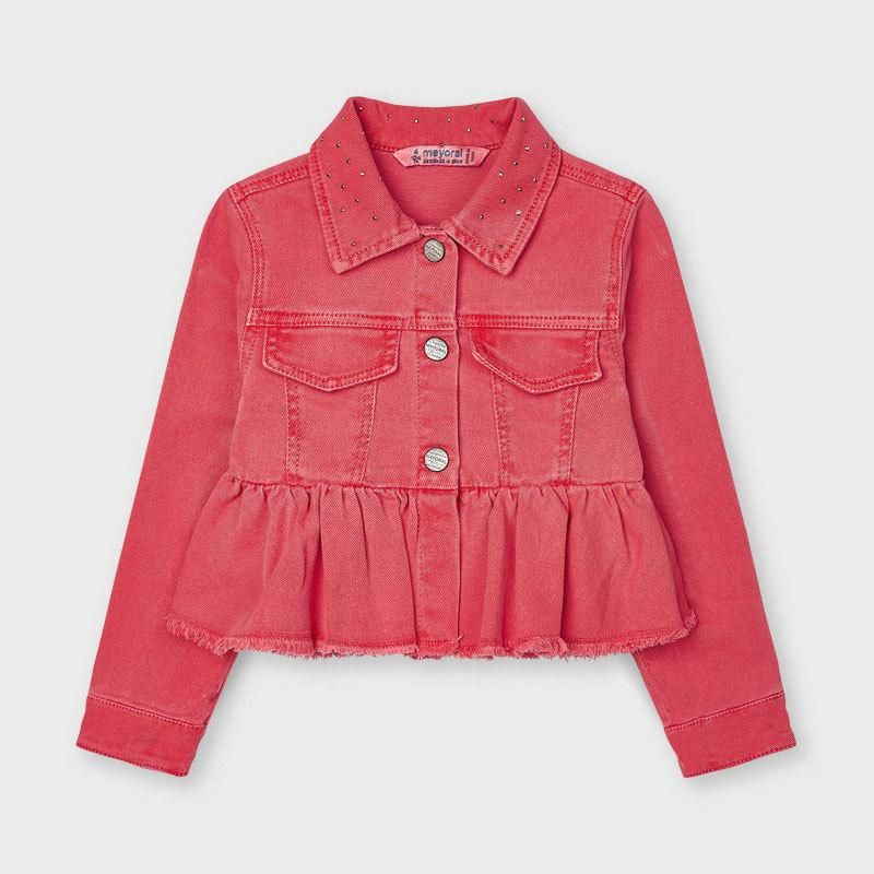 Mayoral Girls Ruffle Jacket 03479