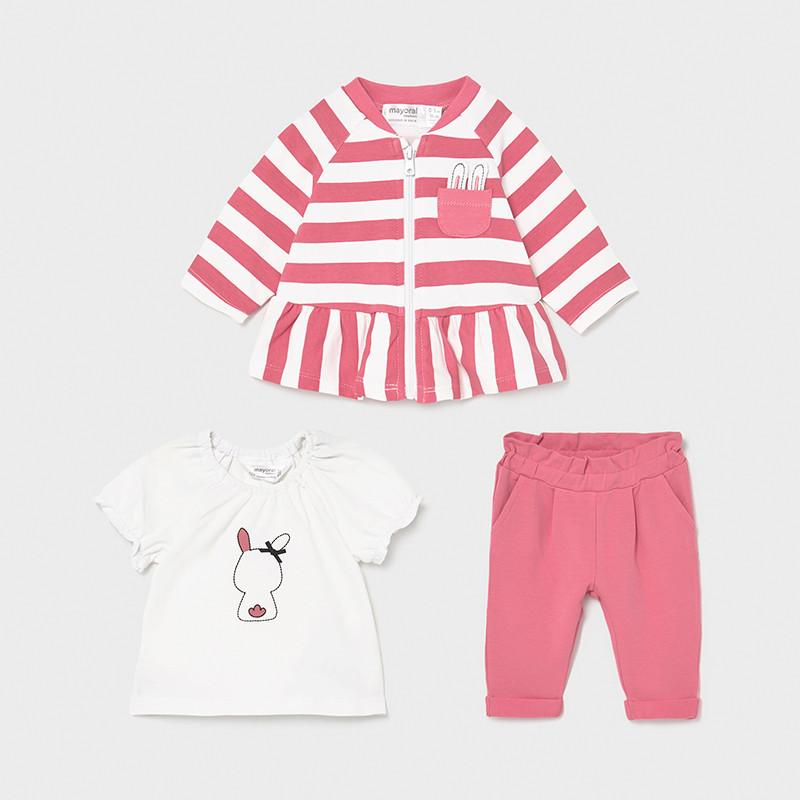 Mayoral Newborns Three Piece Tracksuit 01816