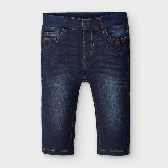 Mayoral Baby Boys Regular Fit Jeans in Dark Denim - 00030