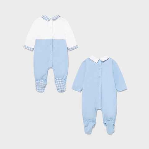 Mayoral Set of 2 Boy's Pyjamas - Blue