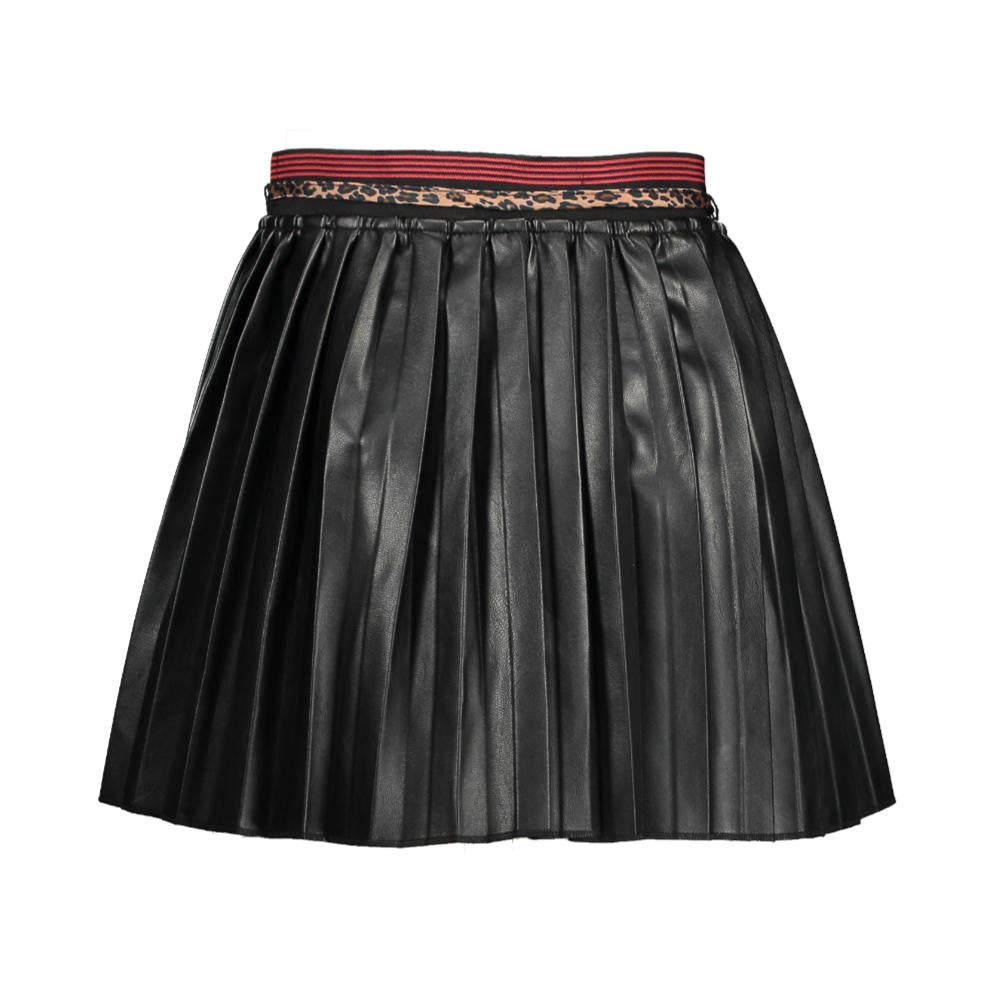 Nono Imitation Leather Skirt - n009-5702