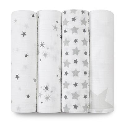 Aden and Anais Swaddle 4 Pack - Twinkle