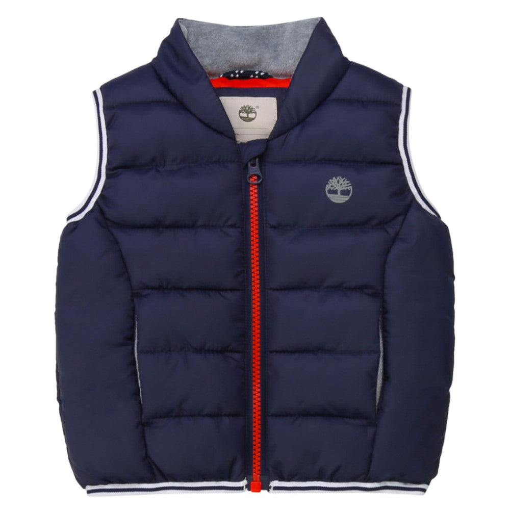 Timberland Baby's Navy Padded Gilet