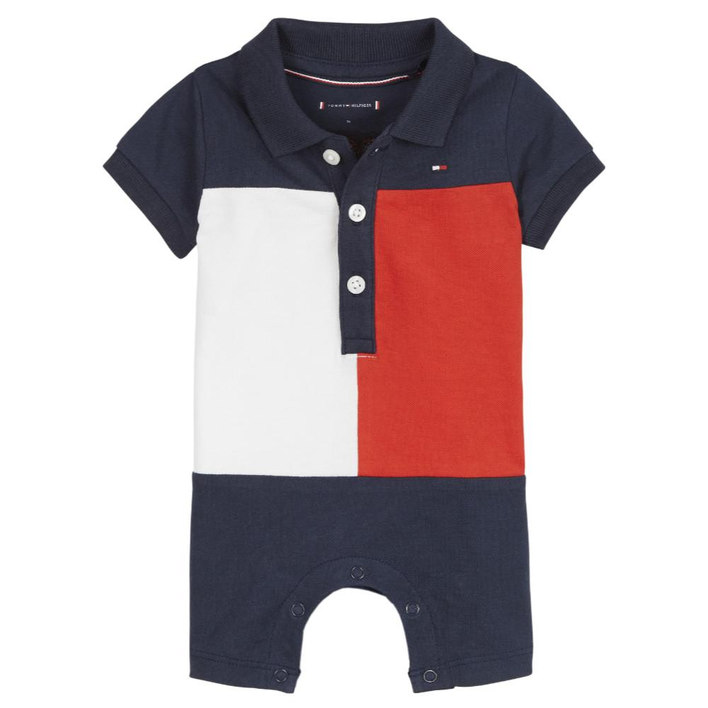 Tommy Hilfiger Colourblock Romper - KN0KN01284