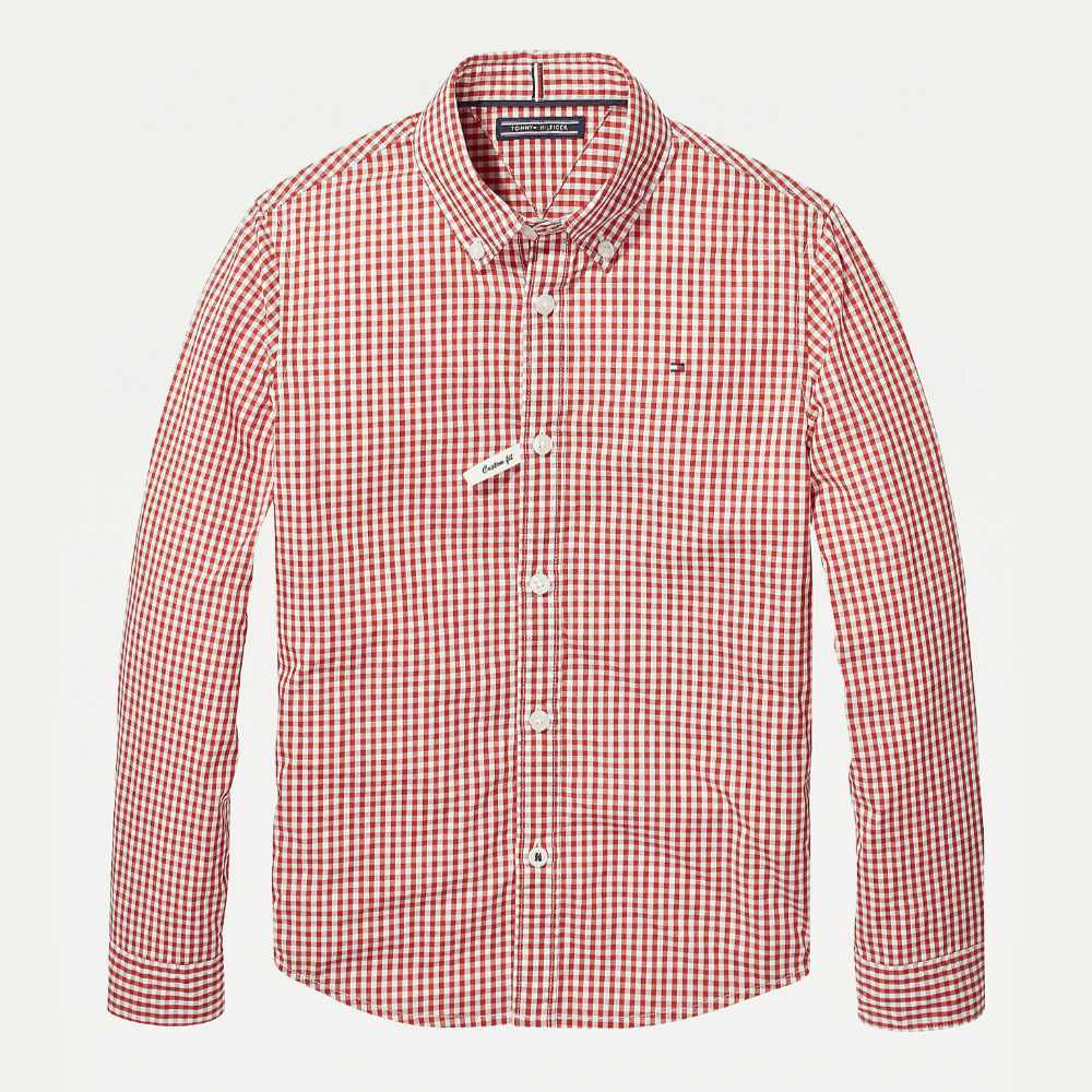 tommy-hilfiger-boys-gingham-shirt-red-white