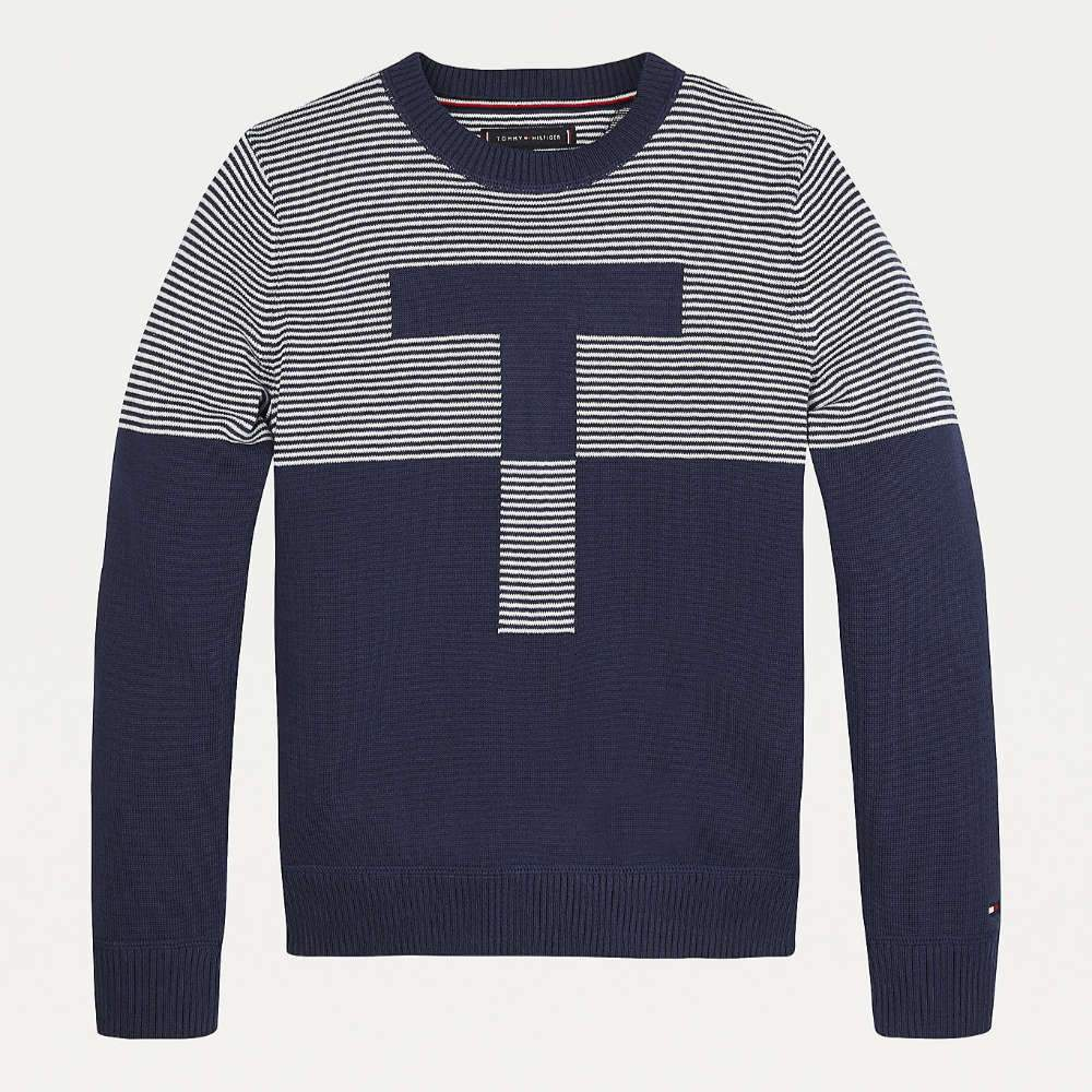 tommy-hilfiger-babys-striped-jumper-navy