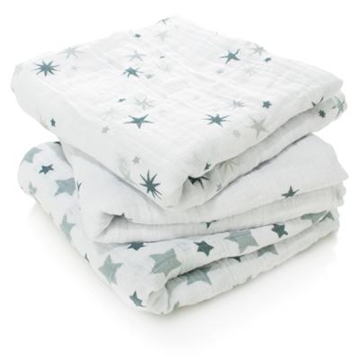 Aden and Anais Muslin Squares 3 Pack - Twinkle