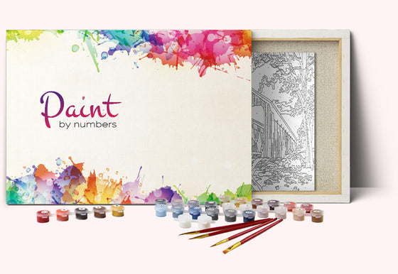 Floral DIY Set Colorful Painting By Numbers High-quality Fall Picture With Frame Without Frame Best Gift for Painter Adult Autumn Painting