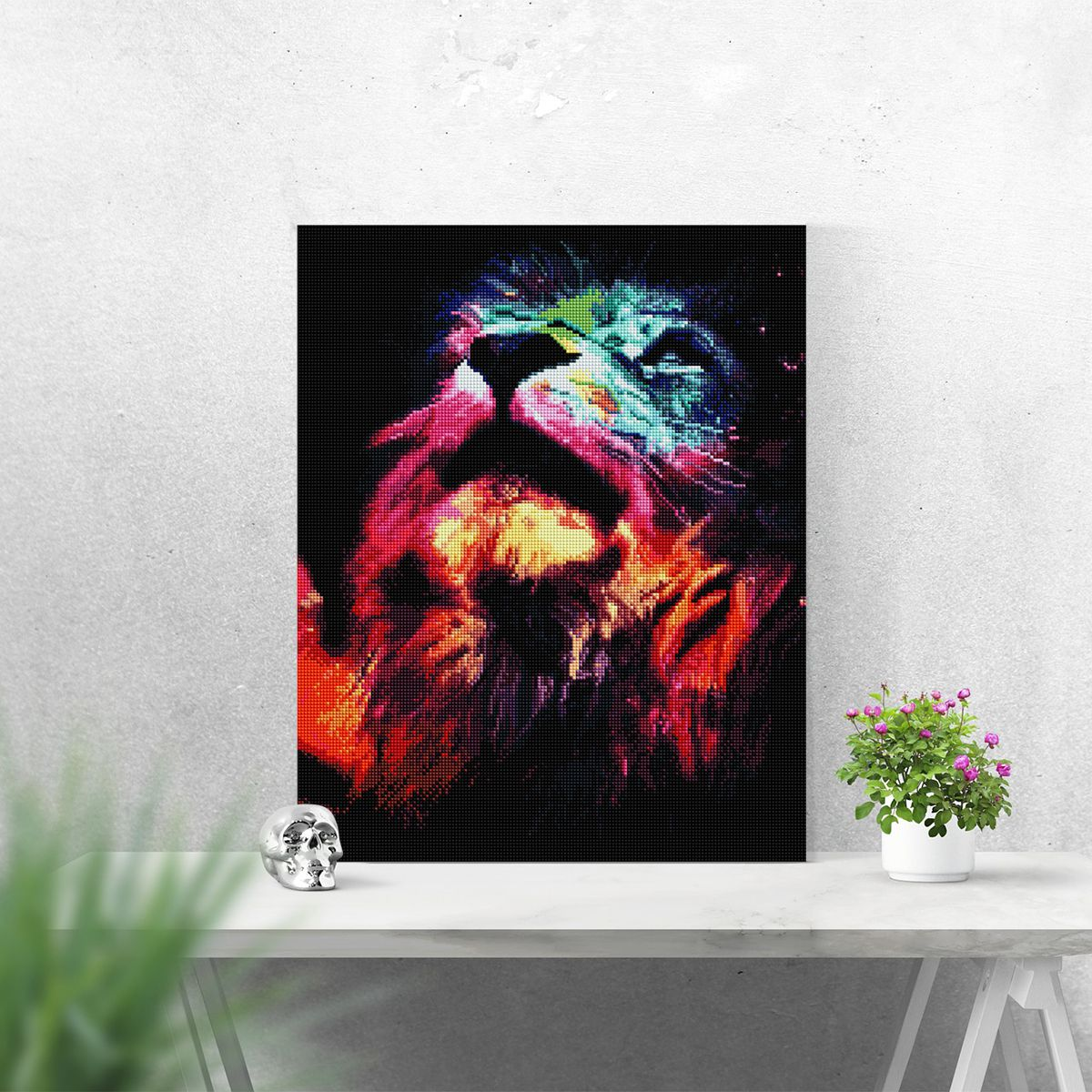 Lion - Diamond Painting