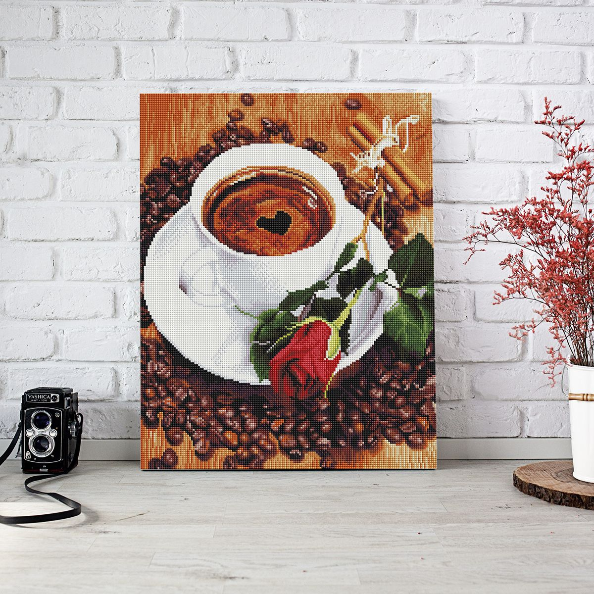 Morning Coffee - Diamond Painting
