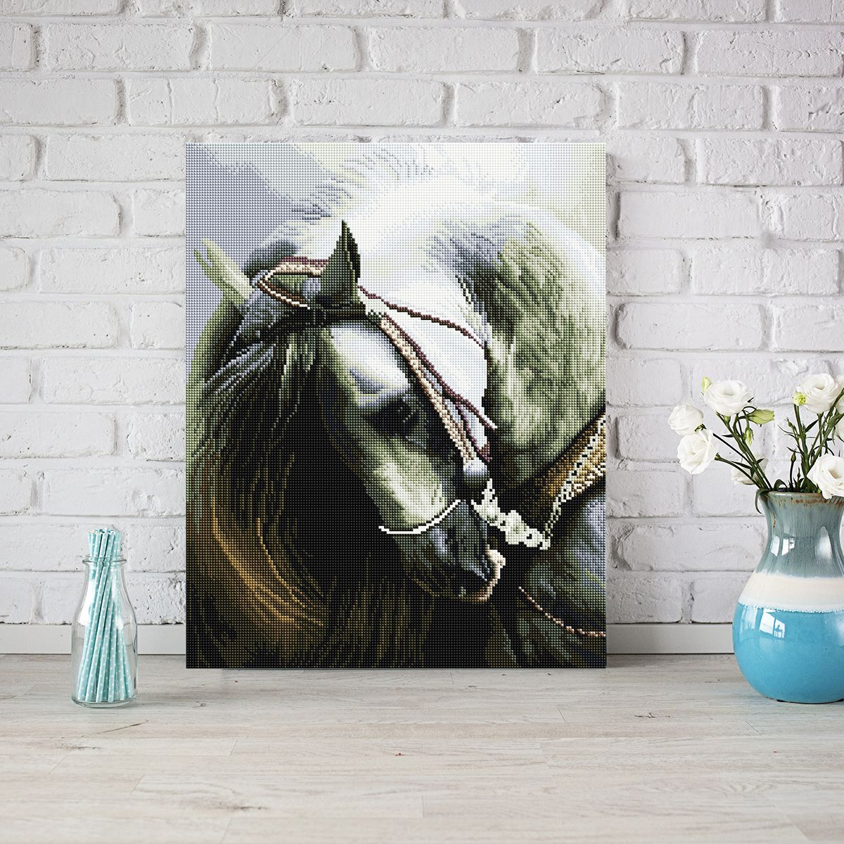 The Noble Horse - Diamond Painting