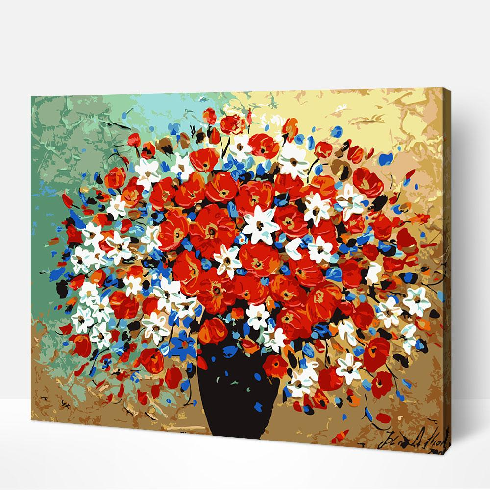 Bouquet of Colors - Paint By Numbers Kit For Adult