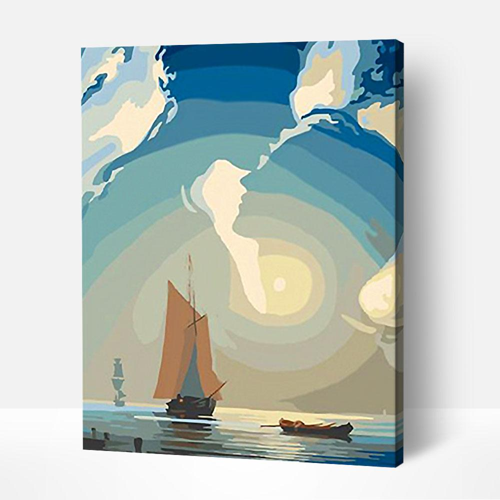 Sailing On - Paint By Numbers Kit For Adult