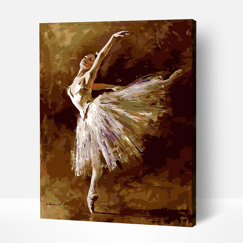 Ballerina in Motion - Paint By Numbers Kit For Adult