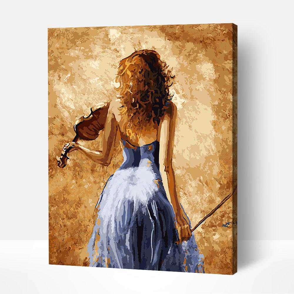 Violinist - Paint By Numbers Kit For Adult