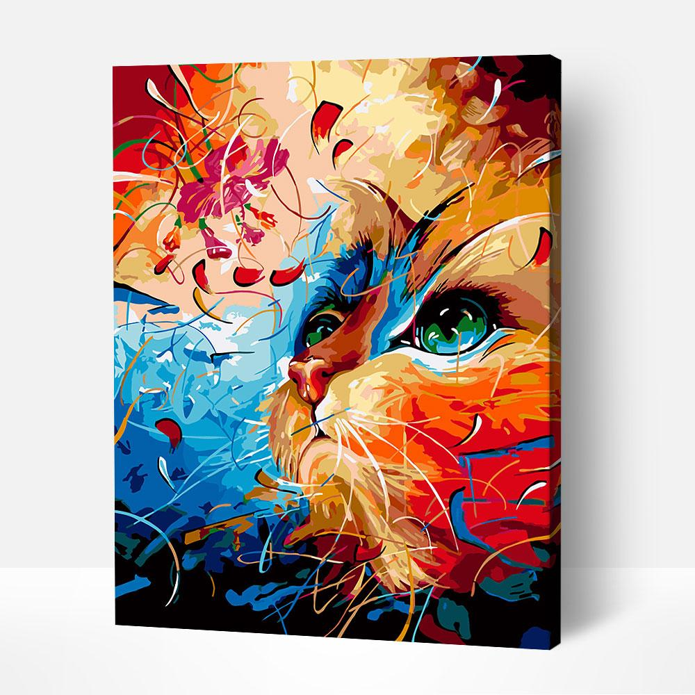 A Cat's Tale - Paint By Numbers Kit For Adults