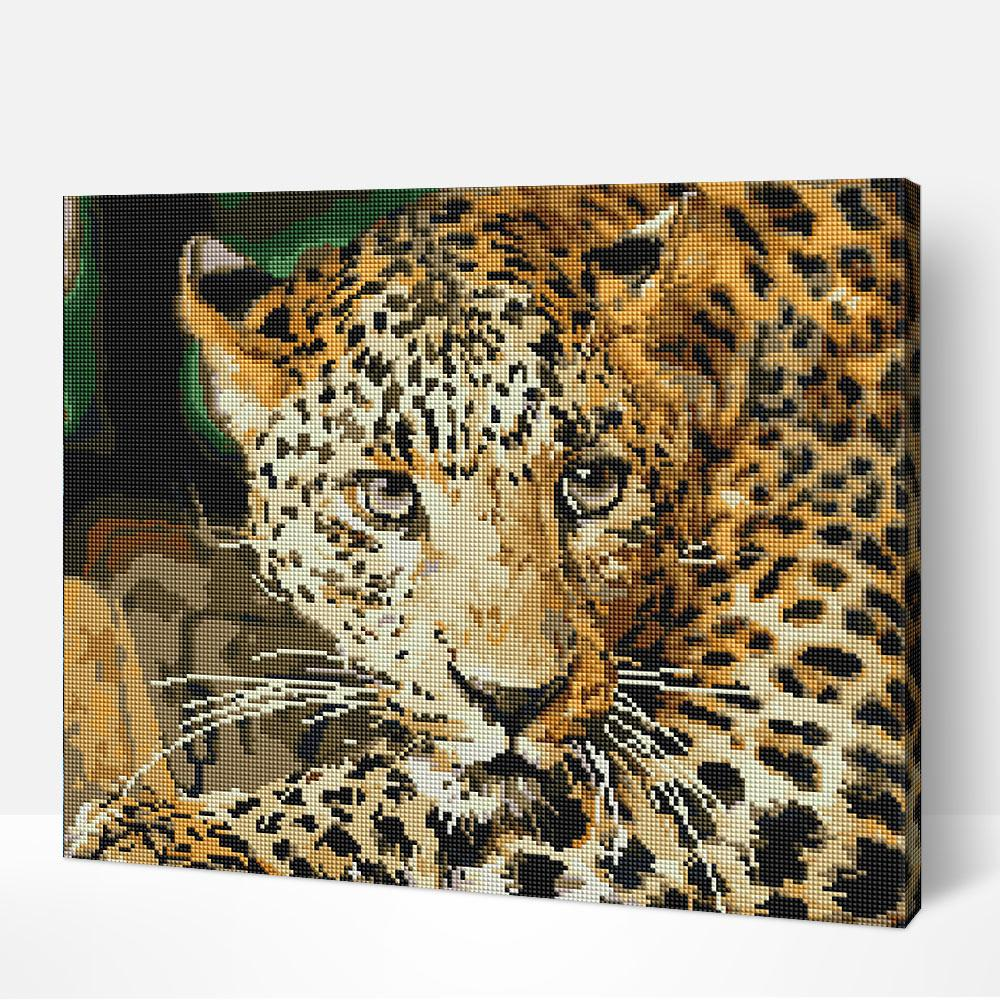Leopard - Diamond Painting