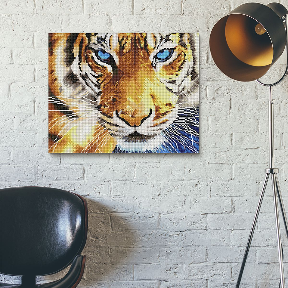 The Power Of Sight - Diamond Painting
