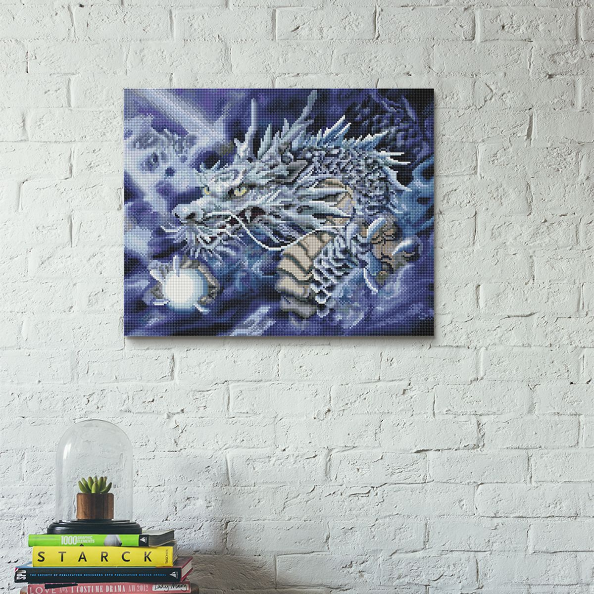 Dragon Pearl - Diamond Painting