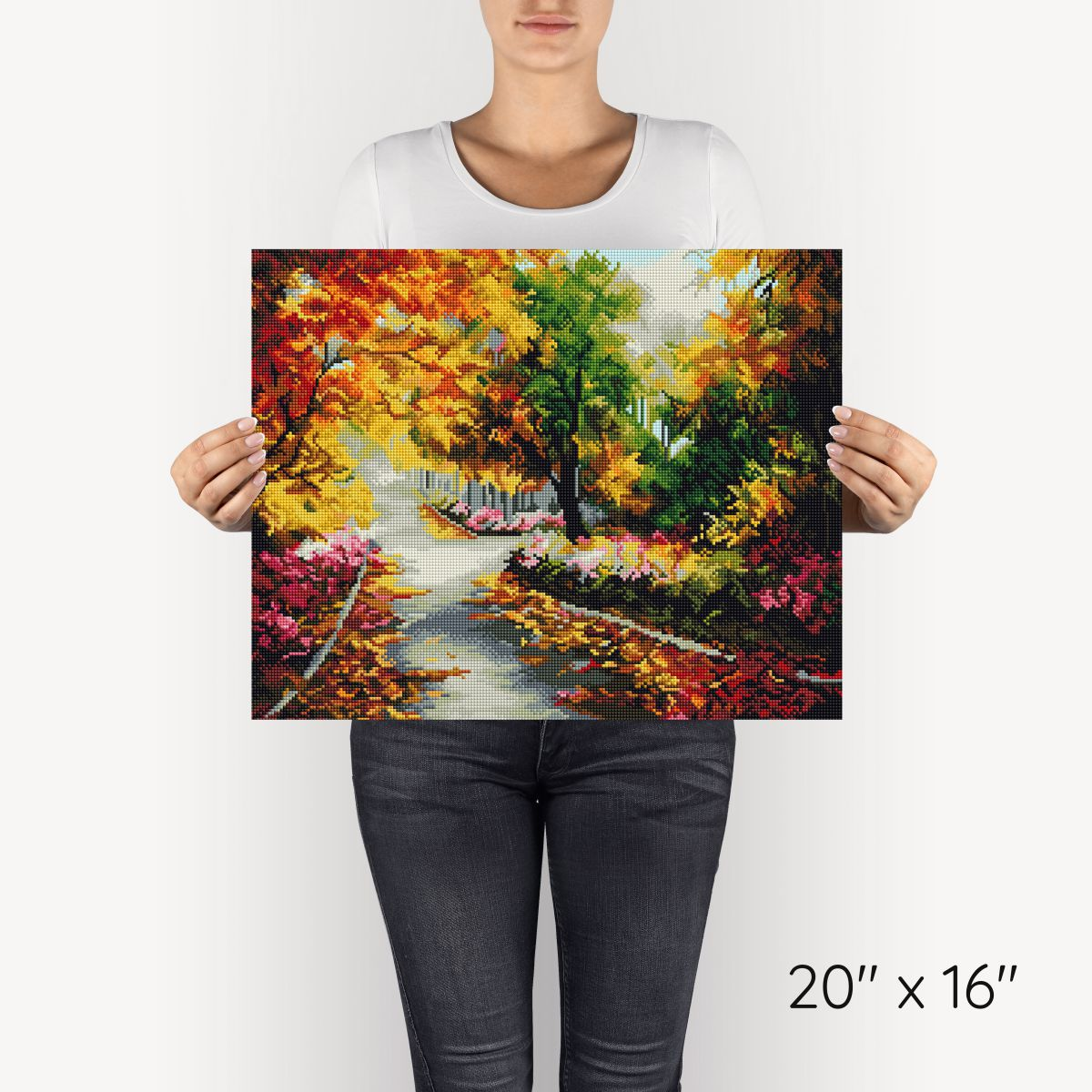 Bright Autumn - Diamond Painting