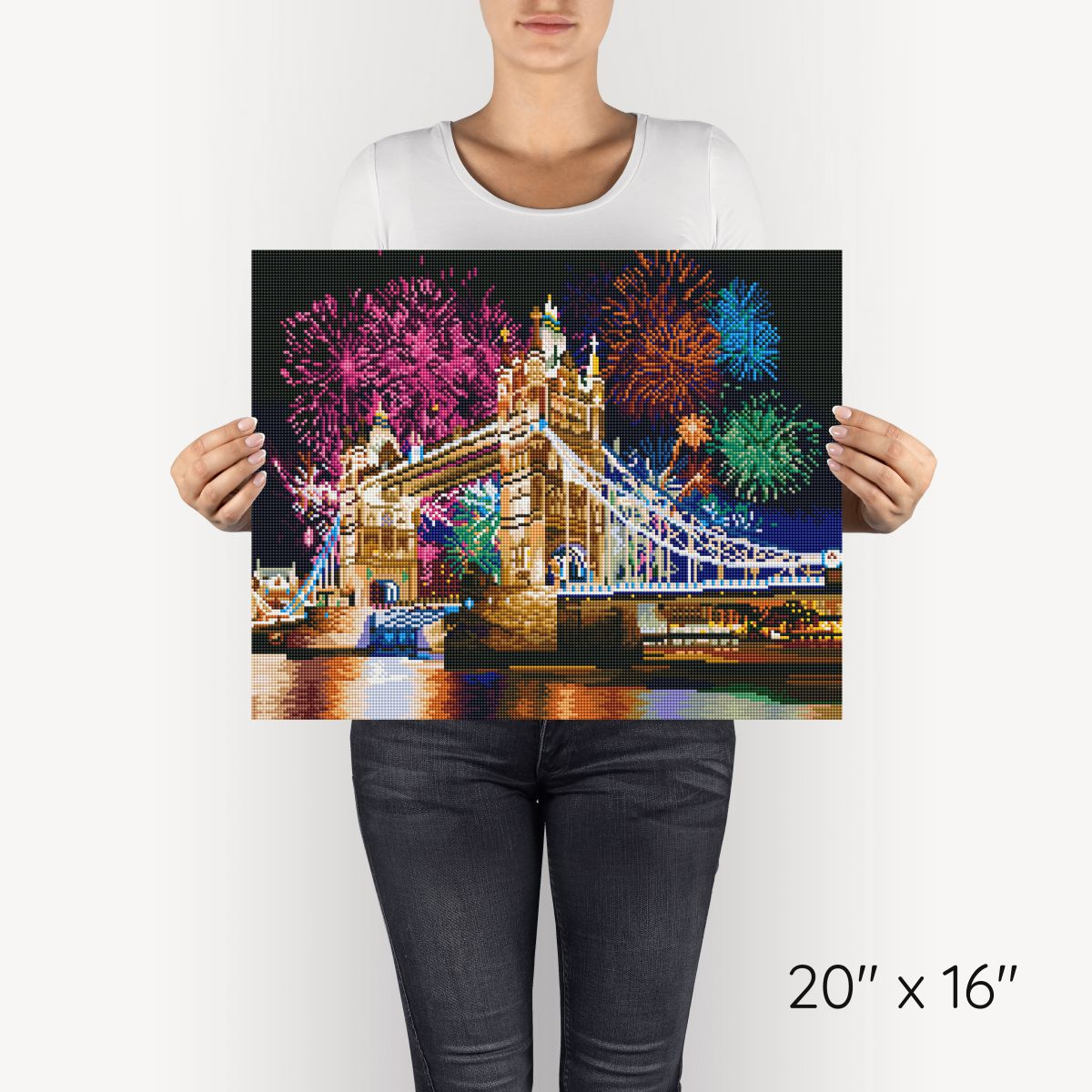 Tower Bridge - Diamond Painting