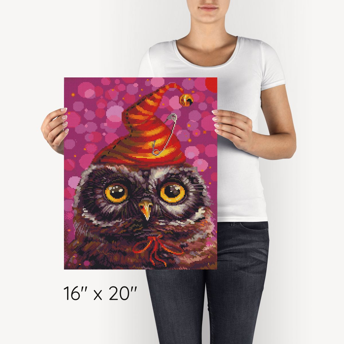Cute Owl - Diamond Painting