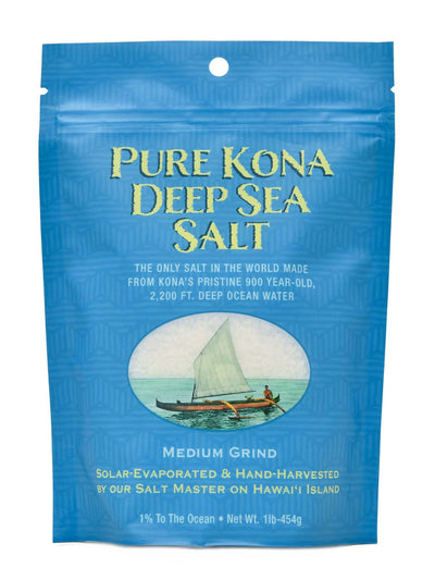 Pure Kona Deep Sea Salt