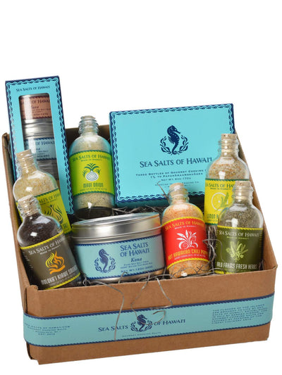 Ultimate Hawaiian Sea Salt Gift Box