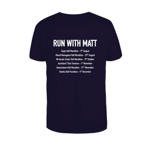 'Run with Matt' Mens Supporter Shirt