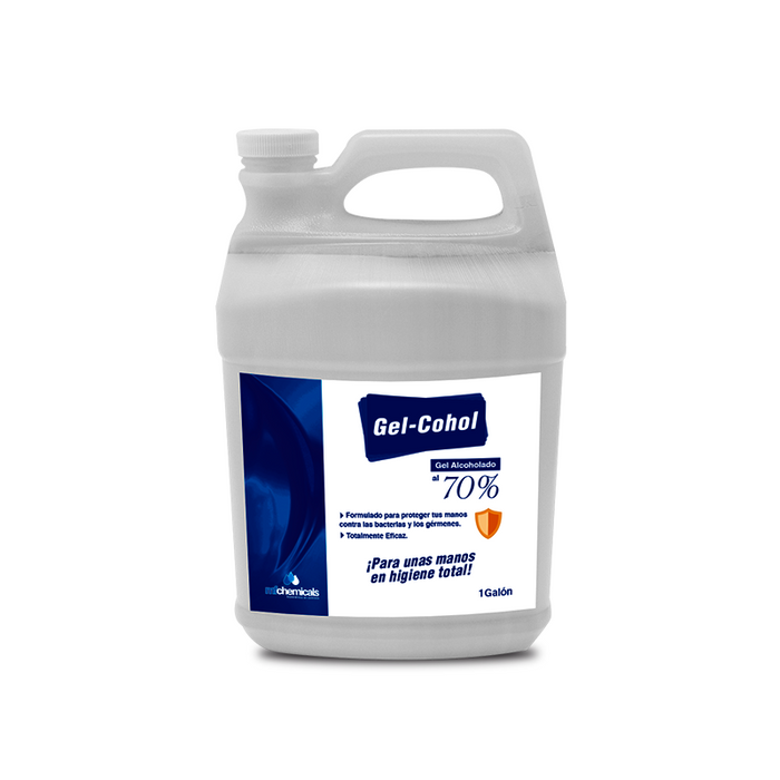 Gel Alcoholado MF chemicals