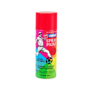Pintura Spray ABRO Rojo