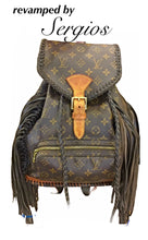 Load image into Gallery viewer, Louis Vuitton Montsouris MM. MONOGRAM