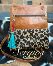 Load image into Gallery viewer, Sophisticated Backpack in Leopard Hyde