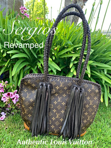 Louis Vuitton, 100 % authentic preowned and revamped by Sergios Collection