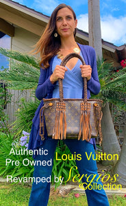 Authentic Louis Vuitton Neverful style