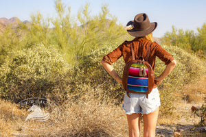 New Mexico Leather Backpack