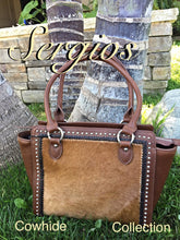Load image into Gallery viewer, Leather bag/Cowhide purse
