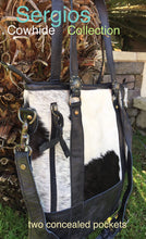 Load image into Gallery viewer, Cowhide leather Bag Tote