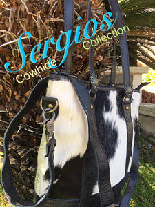 Cowhide leather Bag Tote