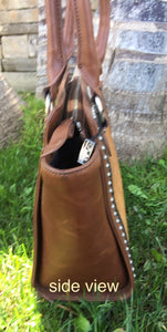 Leather bag/Cowhide purse