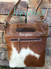 Load image into Gallery viewer, Leather Bag,Cowhide bucket style