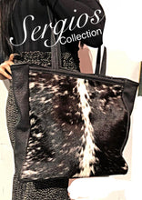 Load image into Gallery viewer, Denver cowhide and deer tote