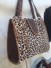 Load image into Gallery viewer, Cheetah Cowhide Bag